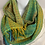 "Thumbnail: Lime green ""Tropical Fish"" Long Infinity Scarf"