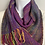 Thumbnail: Purple Holiday Lights Infinity Scarf