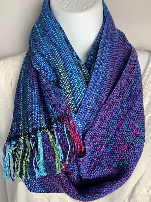 """""""Blueberry"""" Long infinity Scarf"""
