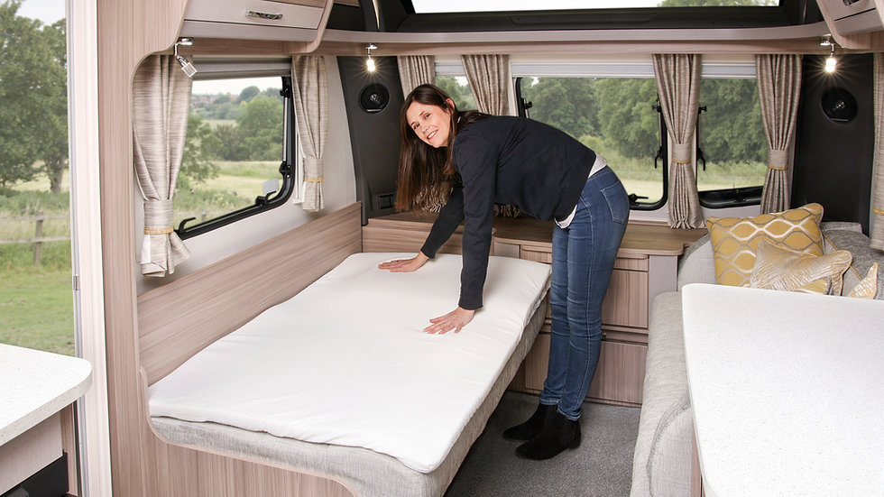 Travel Memory Foam Mattress Topper With Air-Flow Hole Technology