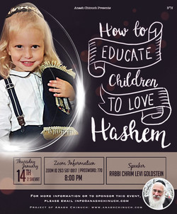 How to Educate Children to Love Hashem