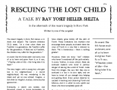 Rescuing the Lost Child