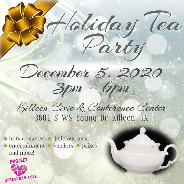 Holiday Tea Party 2020