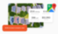 Easily integrate with Google Maps to draw and estimate the scope of each design. Quickly attach to proposals along with directions and estimated budgets all in one place with Onsite CRM