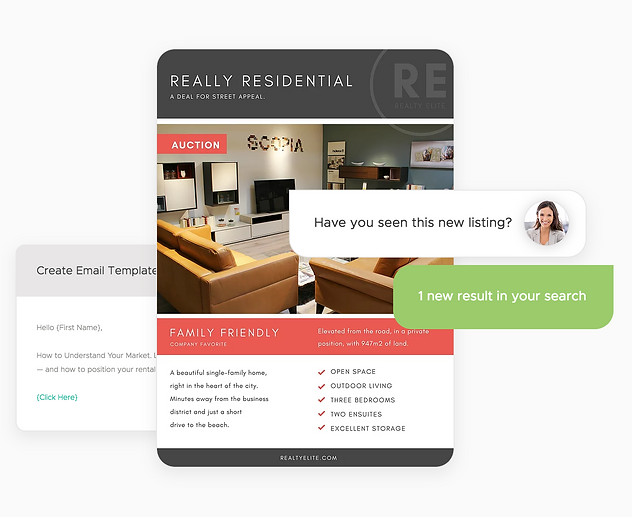 Creating beautiful marketing materials is a breeze with personalized templates and automated tools with Onsite CRM