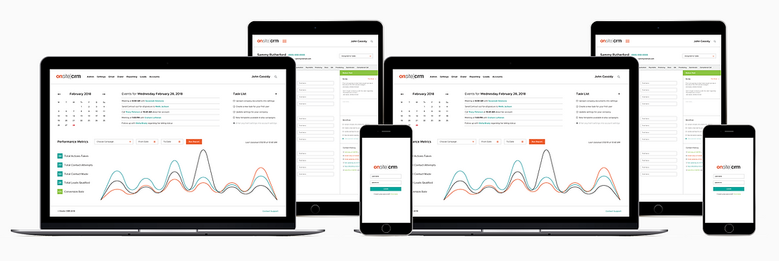 Onsite CRM is a lead management solution designed to automate your sales process, provide greater insight into your business, and propel success with AI tools.