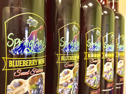 Blueberry dessert wine vancouver bc