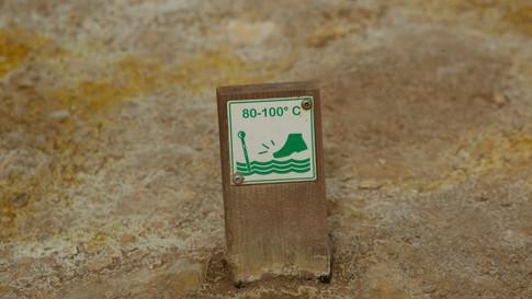 Icelands hot ground