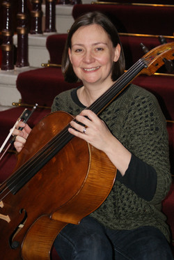 Zoe, our principal cellist