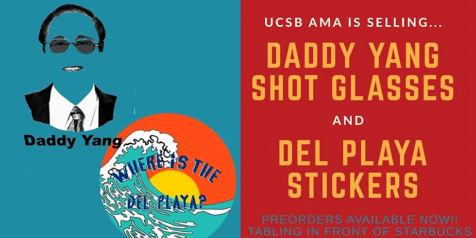 Daddy Yang Shot Glasses & DP Stickers