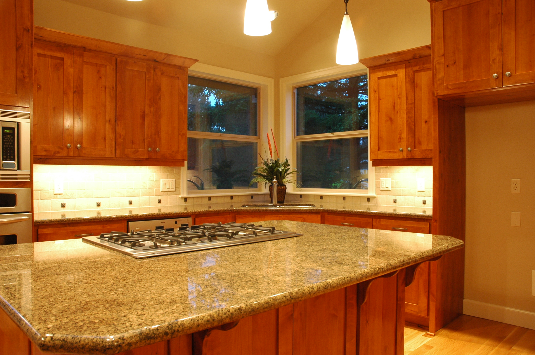 Kitchen Island and Sink