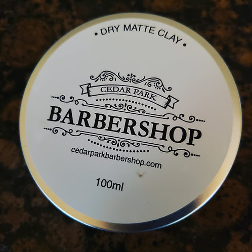 Cedar Park Barbershop Dry Matte Clay