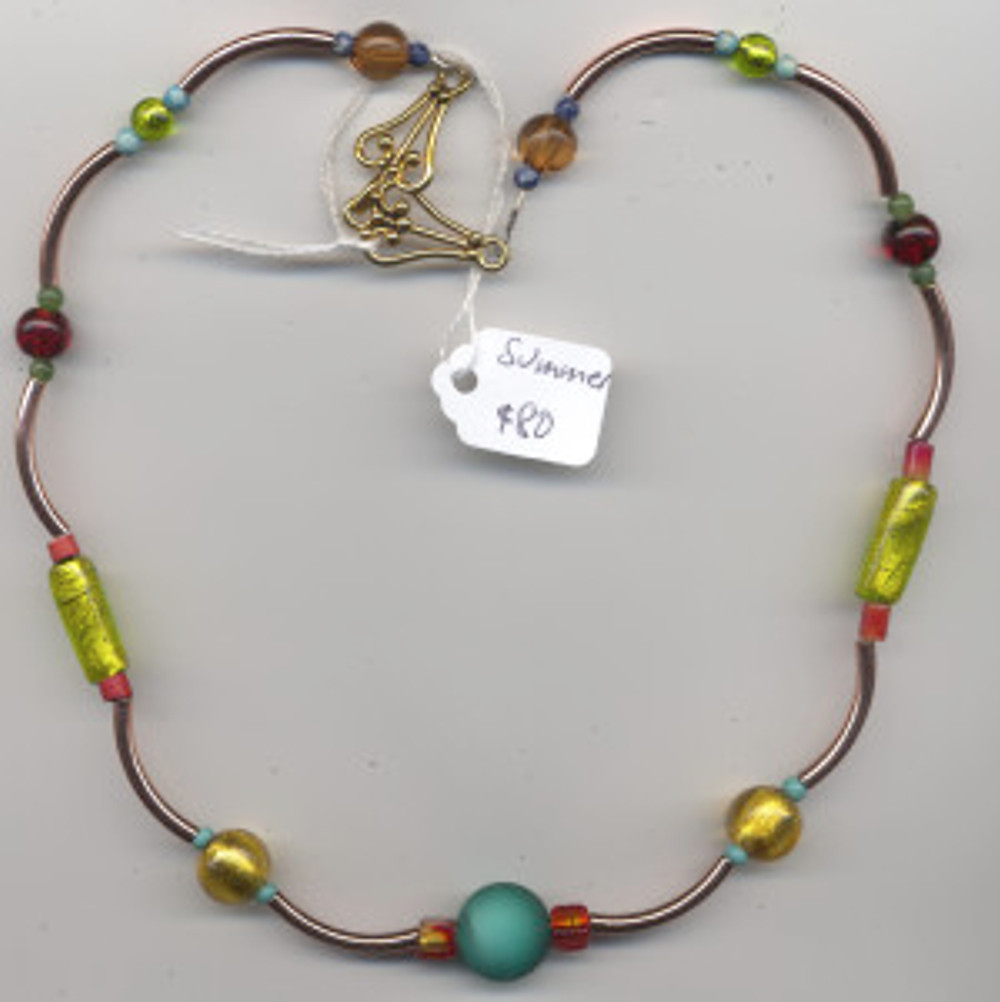 Summer - $80 Murano beads and beads from my world travels