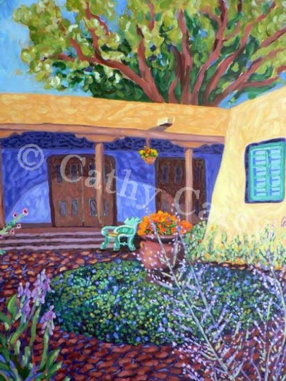 La Posada Courtyard