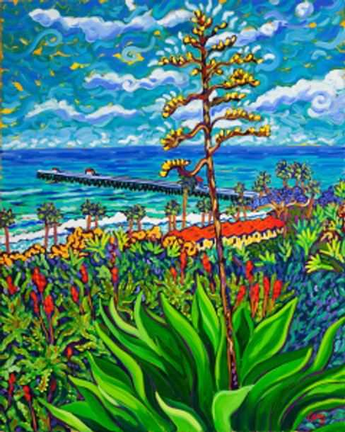 Agave Mar by Cathy Carey ©2013