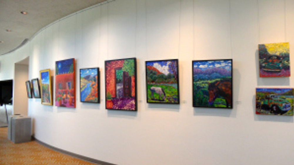 Cathy Carey paintings at the Poway Center for Performing Arts