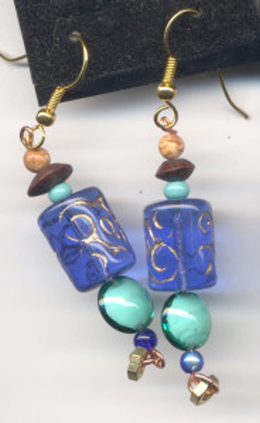 Sea Earrings - $30