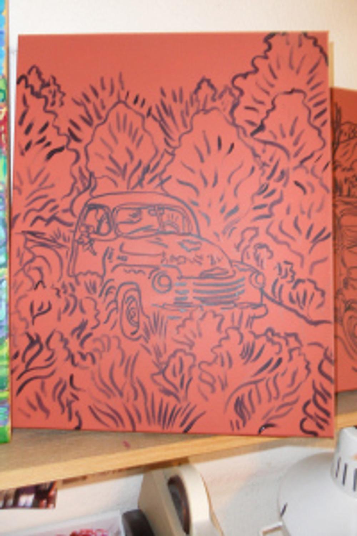 Little Red Truck - 1
