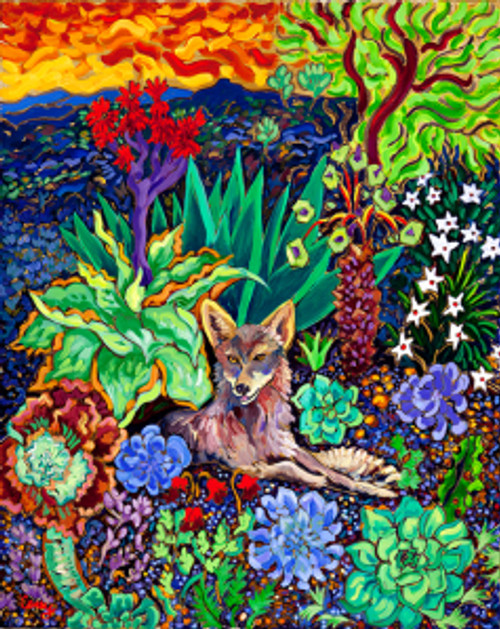 "Garden of Eatin"" oil 24 x 30 by Cathy Carey"