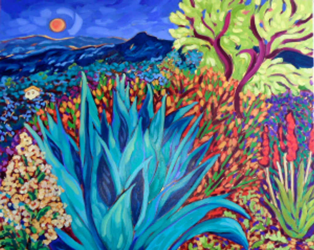 Super Moon Agave by Cathy Carey