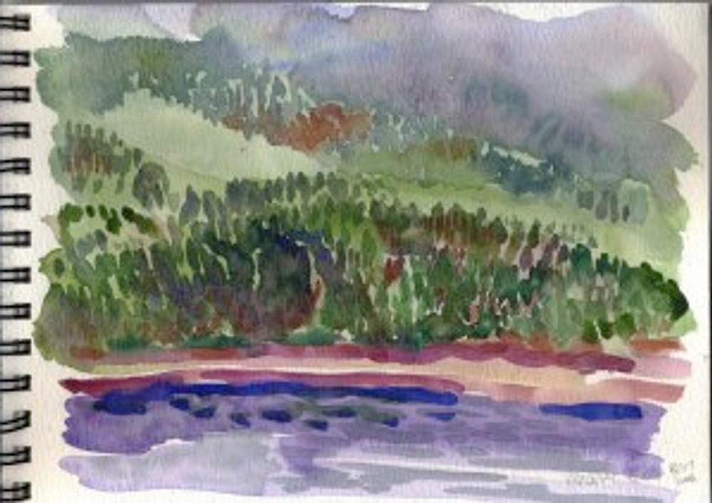 Alaska 2006  Sketchbook - Vancouver Island