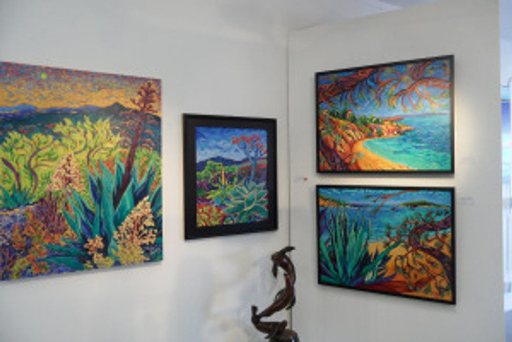My work at Gallery 104