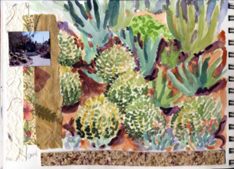 Huntington Garden 2009 - Cactus Garden p11