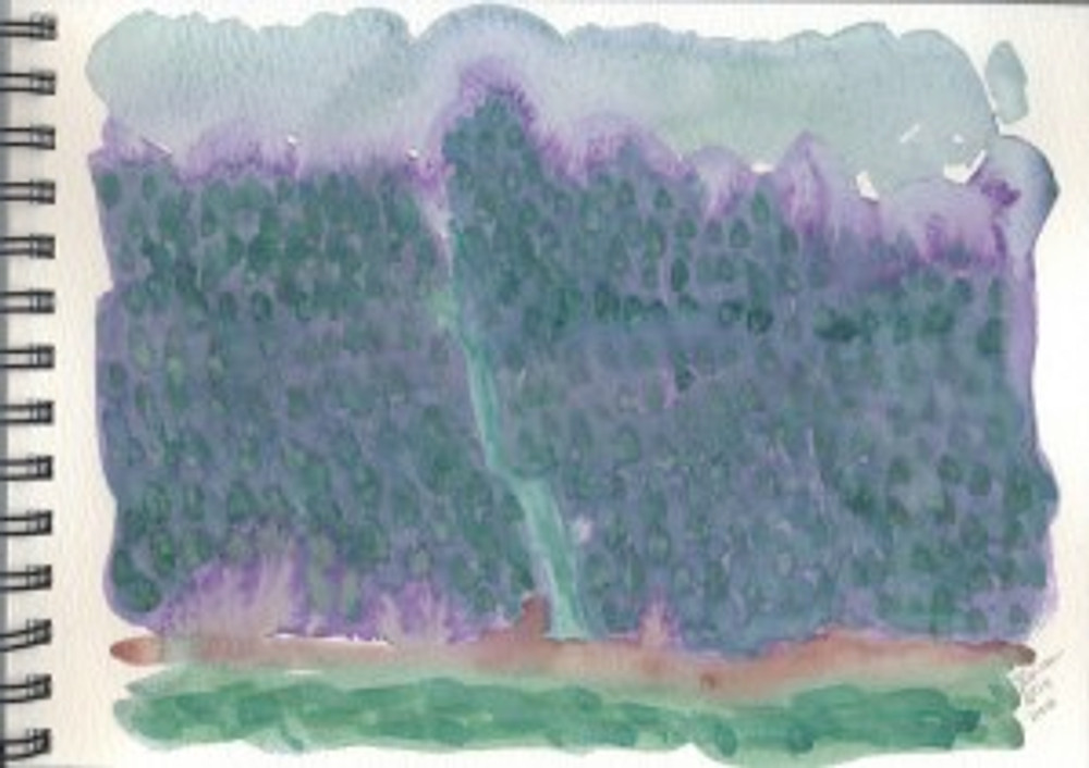 Alaska 2006 Sketchbook  - Juneau 2