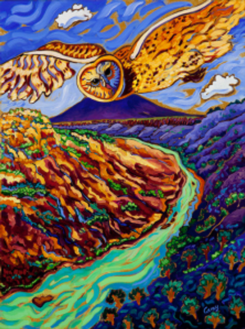Land of Enchantment 18 x 24 oil by Cathy Carey