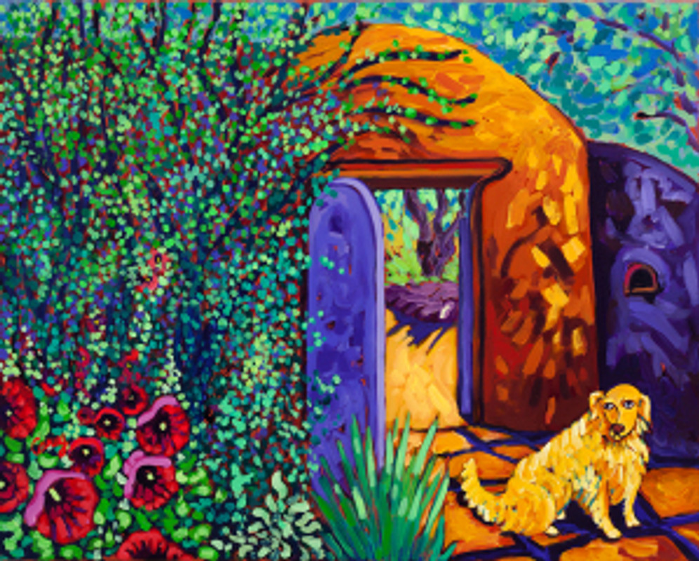 The Long Wait oil by Cathy Carey
