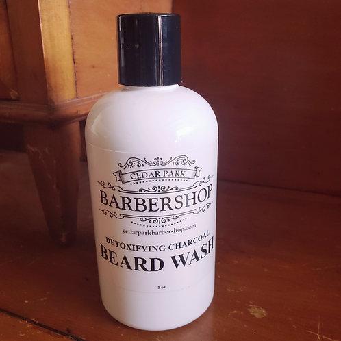Cedar Park Barbershop Detoxifying Charcoal Beard Wash