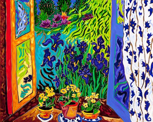 Iris Window Dance