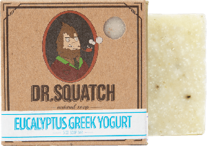 DR.SQUATCH Eucalyptus Greek Yogurt Bar Soap