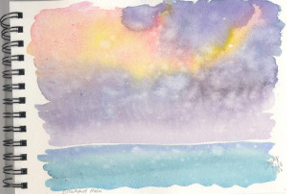 Maui Watercolor Sketch