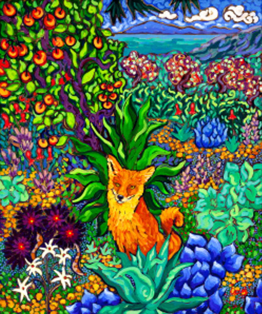 Fox in Foliage by Cathy Carey ©2014