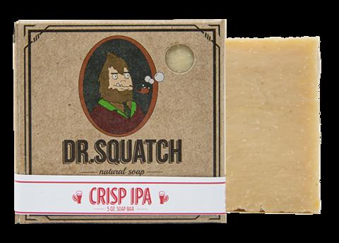 DR.SQUATCH Crisp IPA Bar Soap