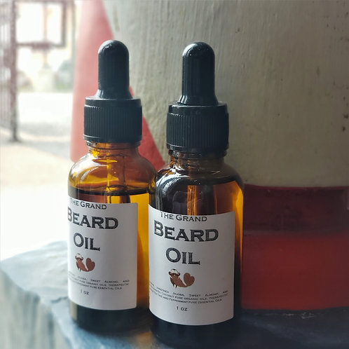 2 Pack Cedar Park Barbershop Beard Oil
