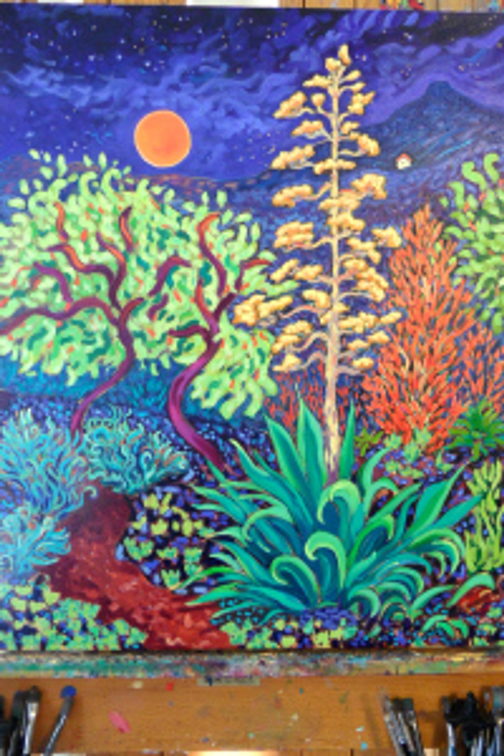 Moonlight Agave by Cathy Carey
