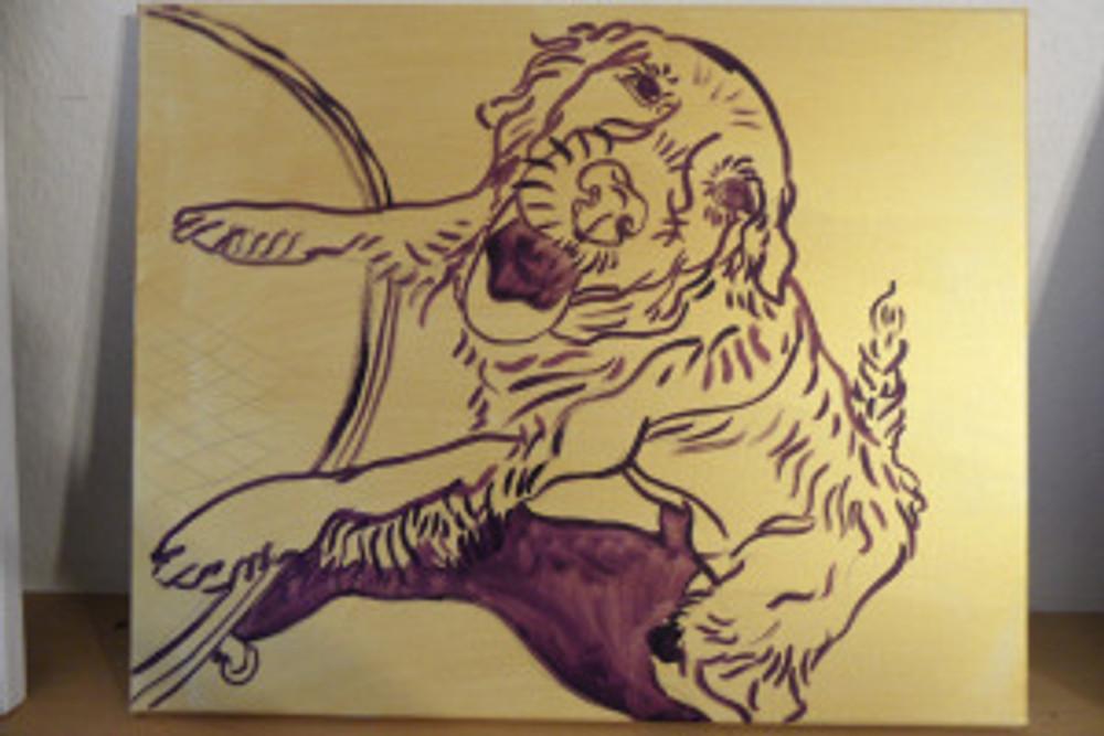 Kira - drawing by Cathy Carey