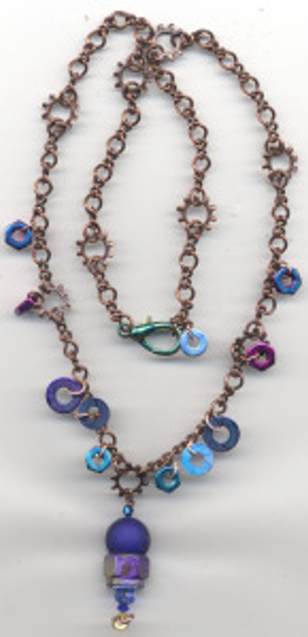Blue Moon - SP66 steampunk necklace