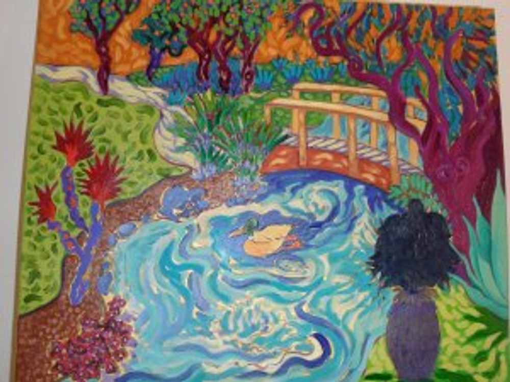 Duck Pond  by Cathy Carey ©2014