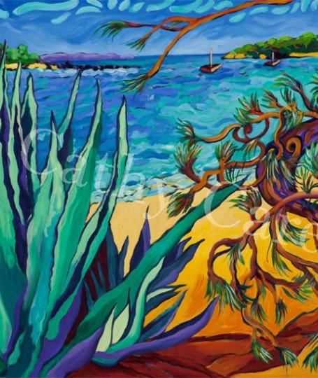 Agave Beach
