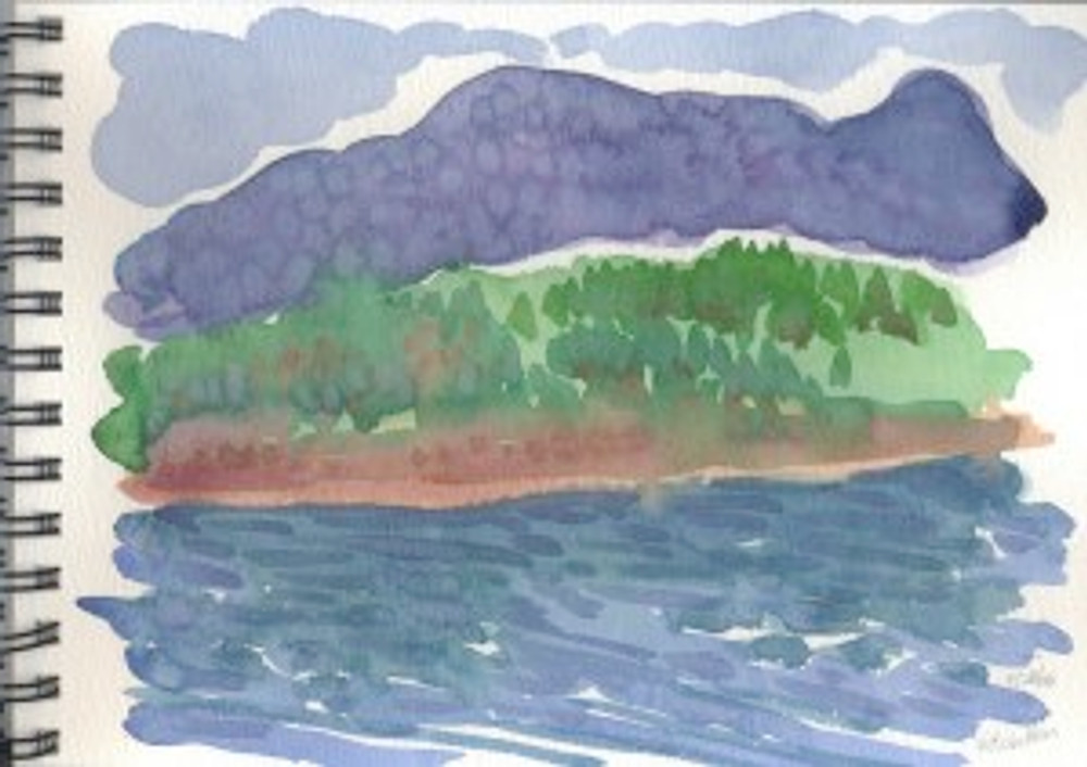 Alaska 2006 Sketchbook  - Ketchikan
