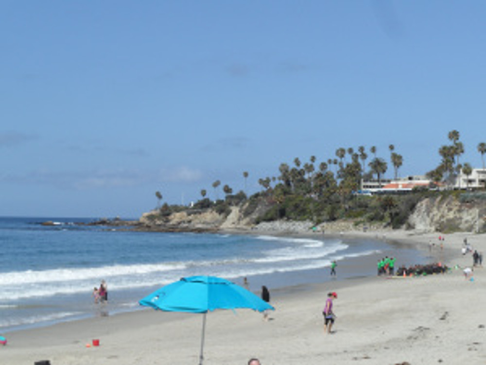 Laguna Beach view from breakfast