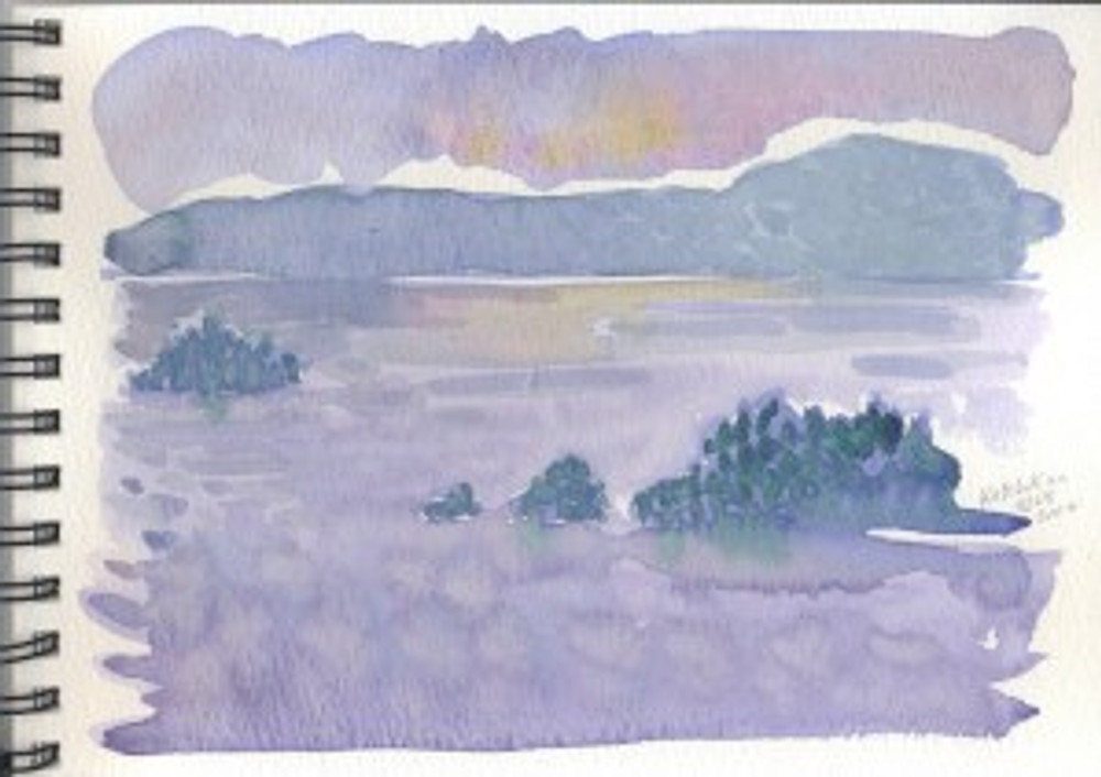 Alaska 2006 Sketchbook  - Ketchikan 3