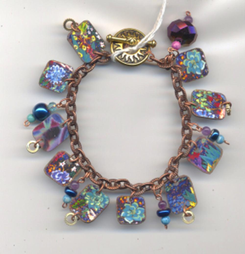 PB27 Rock Garden $73 - bracelet by Cathy Carey ©2015