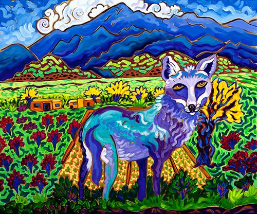coyote coat of many colors web