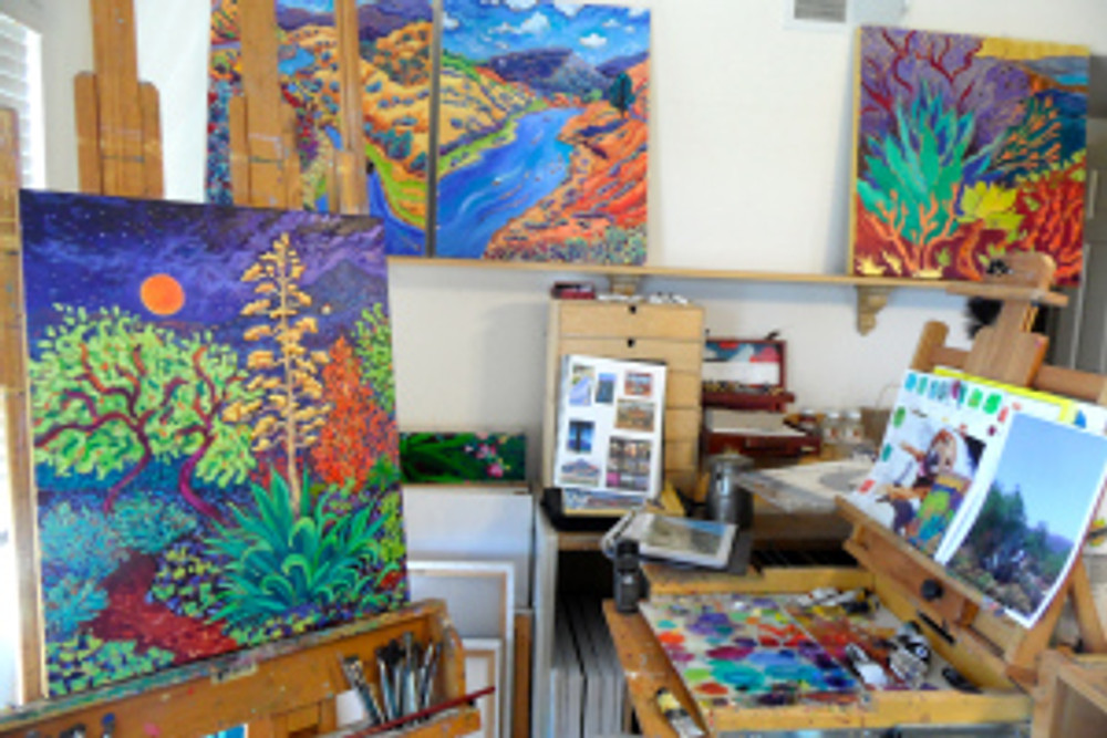 Whats on the Easel