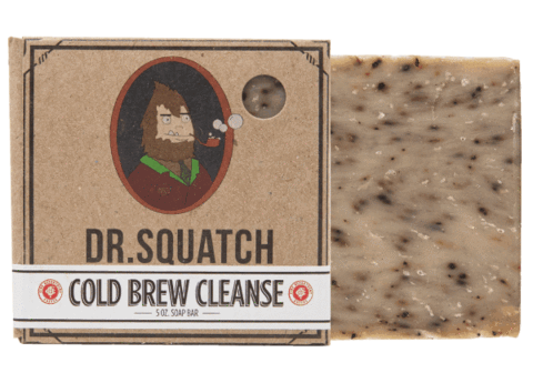 DR.SQUATCH Cold Brew Clense Bar Soap