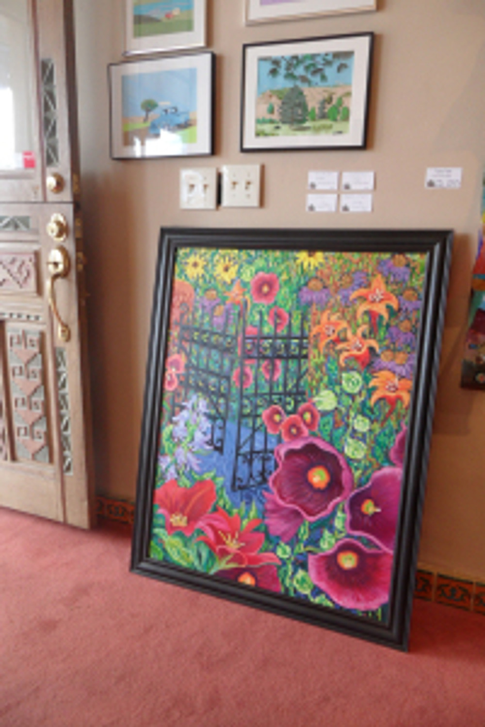 """""""Summer Gate"""" showing at The Ranch at Taos Gallery"""